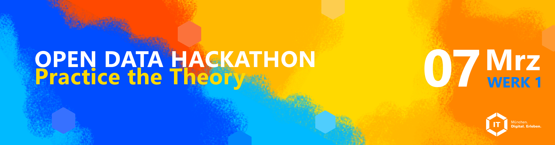Open Data Hackathon: Practice the Theory