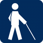 Piktogramm Blinde